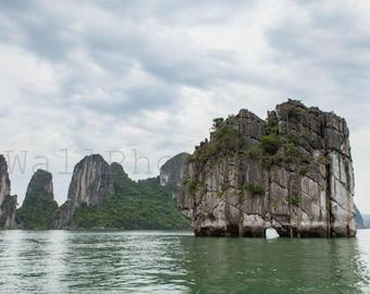 Vietnam Landscape Photography, Halong Bay Vietnam Photos, Vietnam Wall Art Print, Vietnam Images, Halong Bay Photography, Vietnam Pictures