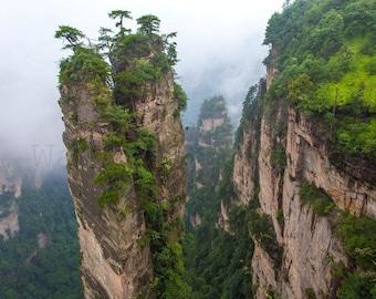 Nature Photography, Zhangjiajie National Forest Park China, China Photography, Travel Photography, Mountains Photography, China Wall Art