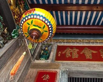Vietnam Photography, Chinese Paper Lanterns, Lantern Photography, Buddhist Temple, Hoi An, Buddhism, Asian Art, Fine Art Photography Print