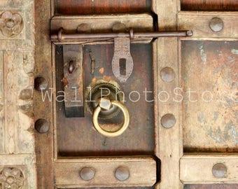 Zanzibar Door Photography, Door-bolt, Door Lock Photography, Architecture Photography, Door Fine Art Photography, Door Wall Art, Tanzania