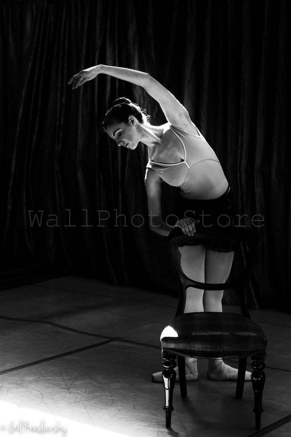 Ballerina Black White Photography Ballet Photography Etsy