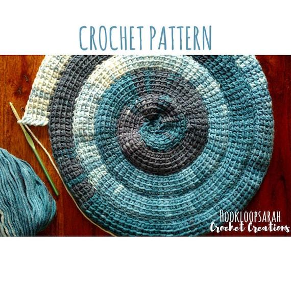 CUSTOM Tunisian Crochet Pillow Cover
