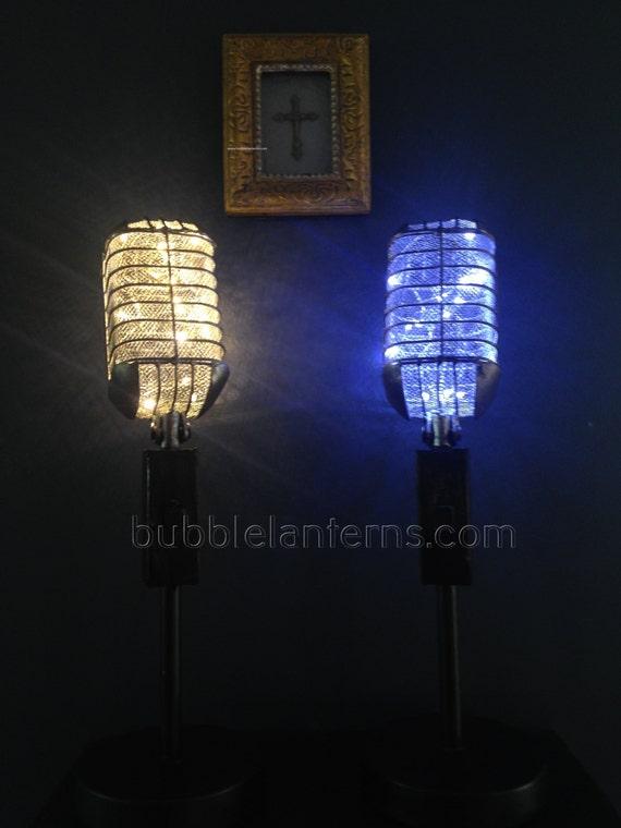 Microphone Lamp Nashville Music City USA