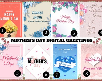 Valentine/'s Digital Greetings 64 Various Designs I Love You Message Personalised Be My Valentin Digital Ready To send.