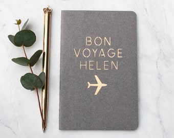 Luxury Personalised Travel Journal