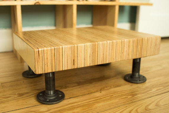 Groovy Laminated Hardwood Step Stool Kitchen Step Stool Bathroom Step Stool Black Pipe Step Stool Industrial Step Stool Modern Step Stool Creativecarmelina Interior Chair Design Creativecarmelinacom