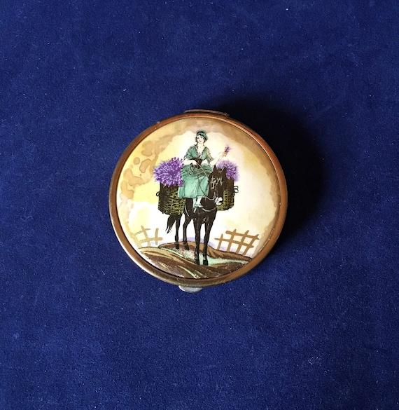 Art Deco Potter & Moore Powder Compact, Vintage 19