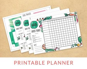 A4 Garden Planner | Digital Download | Allotment | Homestead