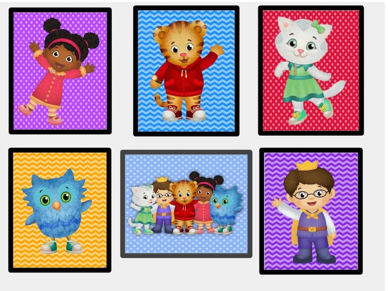 picture regarding Daniel Tiger Printable named Daniel Tiger Wall Artwork Printables like fresh Persona Jodi , Shots, Posters, Daniel Tiger Package deal Fast Obtain