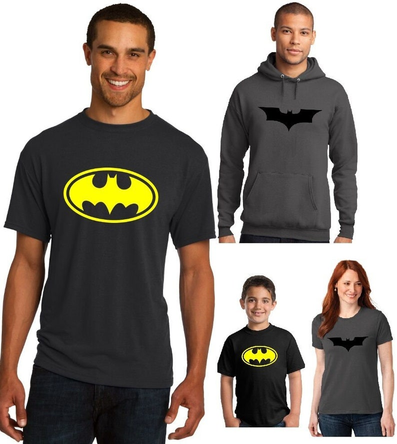 c10496a2 New Batman T-Shirt Men's Ladies Youth Vintage Classic logo | Etsy