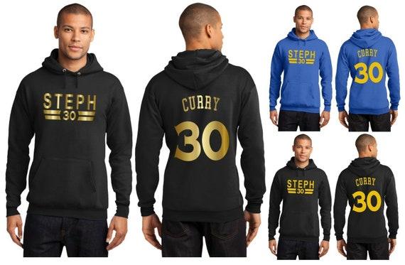 online store c2552 9d283 New Steph Curry Hoodie Hooded Sweatshirt Jersey Stephen Golden State  Warriors