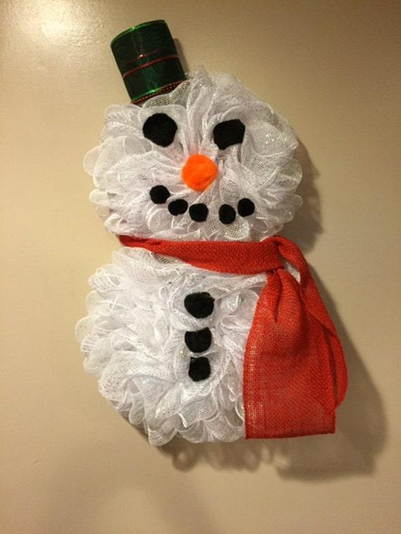 Snowman Full Body Wreath