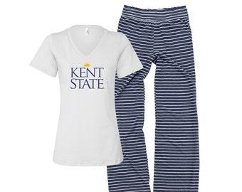 Kent State Clothing Kent State Lounge Pants Kent State University Leggings Kent State Gifts Kent State Apparel Kent State tights