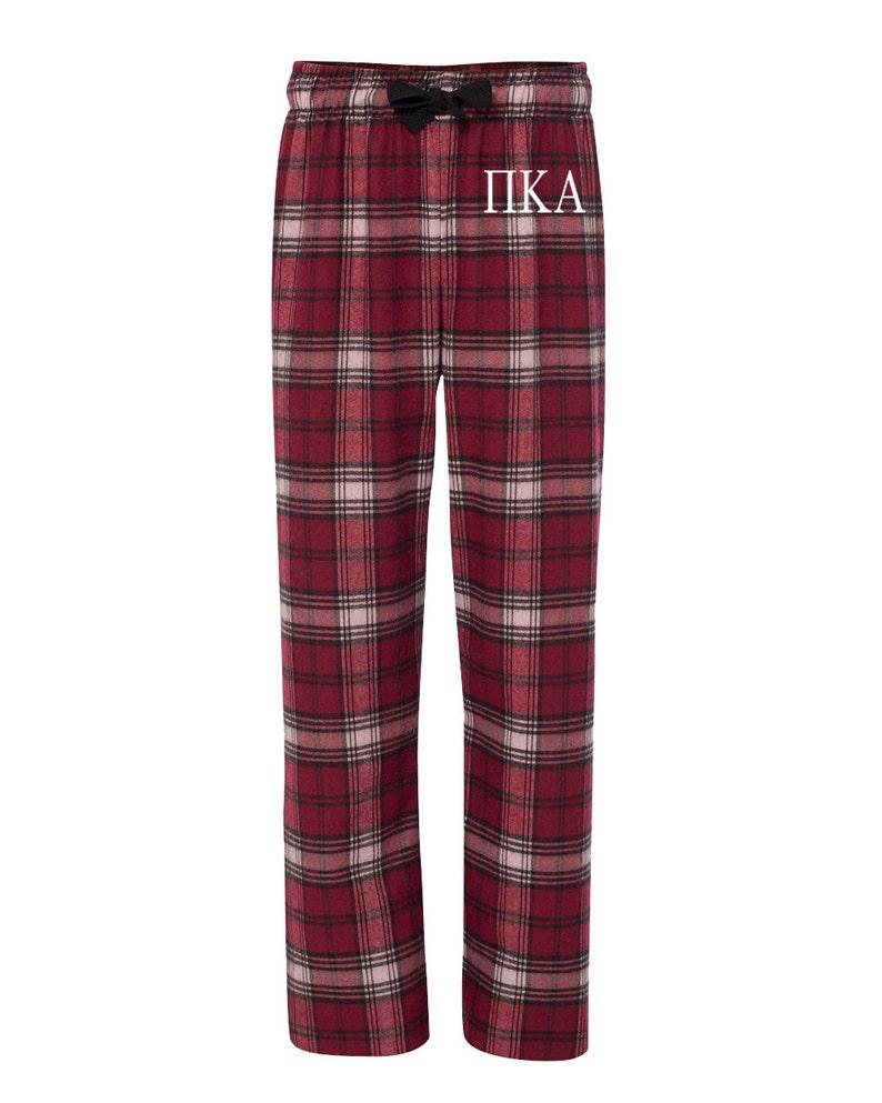 b5f8b5eafccc55 Pi Kappa alfa spodnie flanelowe Pike piżam braterstwa list image 0 ...