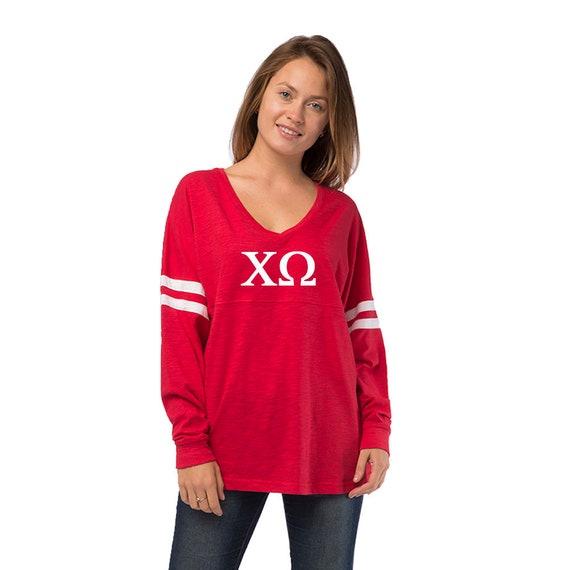 Varsity College Zeta Tau Alpha Sorority Gift Long Sleeve T-Shirts Tee For Women