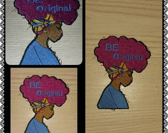 94c75a268233d Girl w  The Big Hair Patch (Customized)