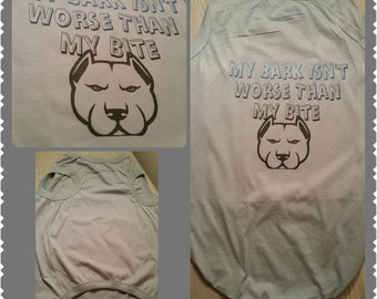 Bark vs. Bite Doggy Tee