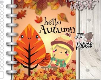 Planner Insert, Printable Planner Insert, Autumn Insert, Thanksgiving Insert, Planner Divider, Planner Quotes, Planner Dashboard