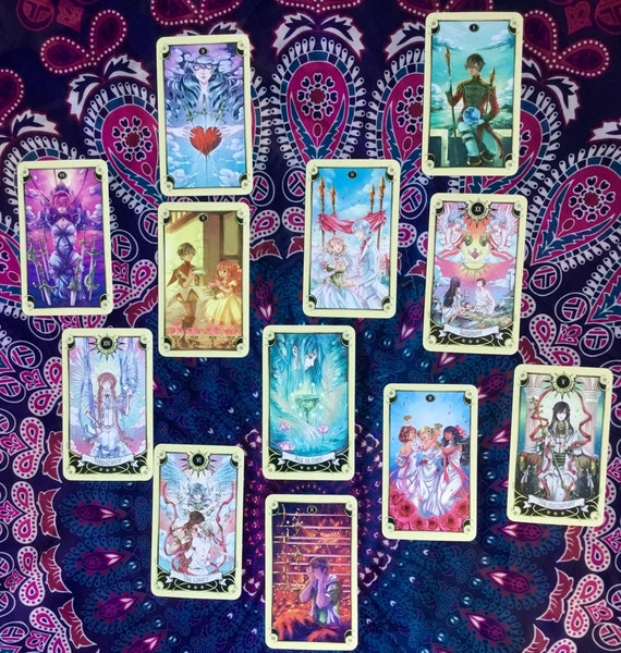 Is my crush crushing back? Tarot Spread - love advice 12 cards reading  1700+ words romance relationship soulmate future prediction boyfriend