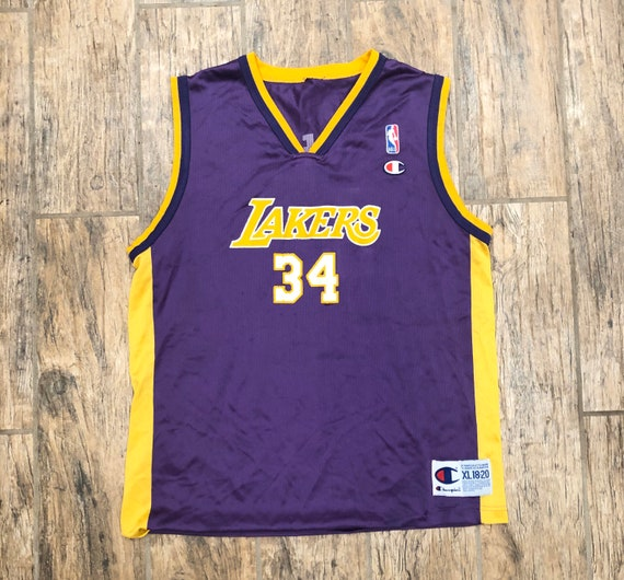 Vintage Shaquille O'Neal  champion jersey youth XL
