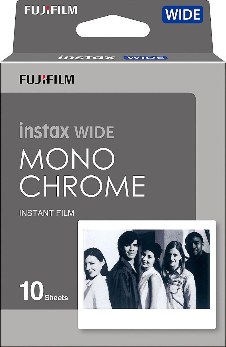 NEW Best Price Fujifilm Instax Wide Monochrome Film  FAST image 0