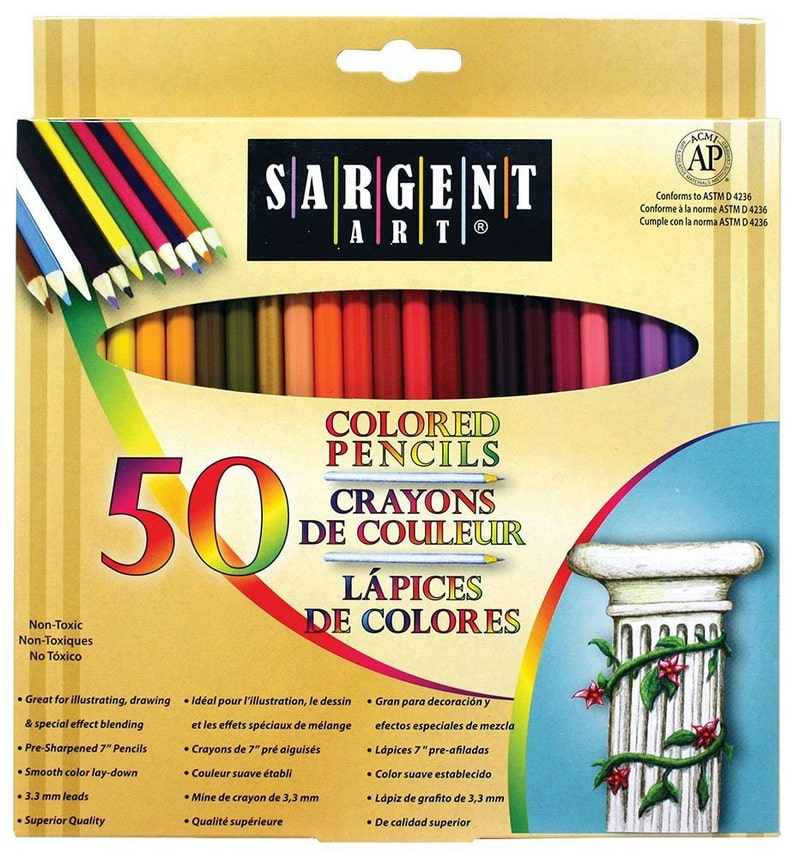 NEW Best Price Sargent Art 22-7251 Colored Pencils Pack of image 0