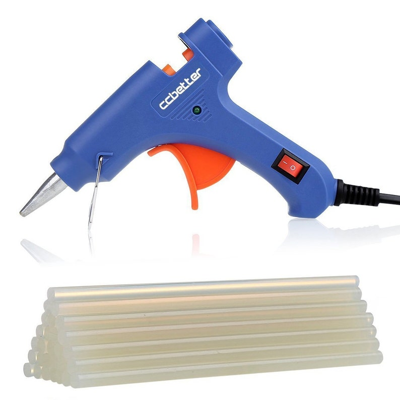 NEW Best Price CCbetter® Mini Hot Glue Gun with 25 pcs Melt image 0