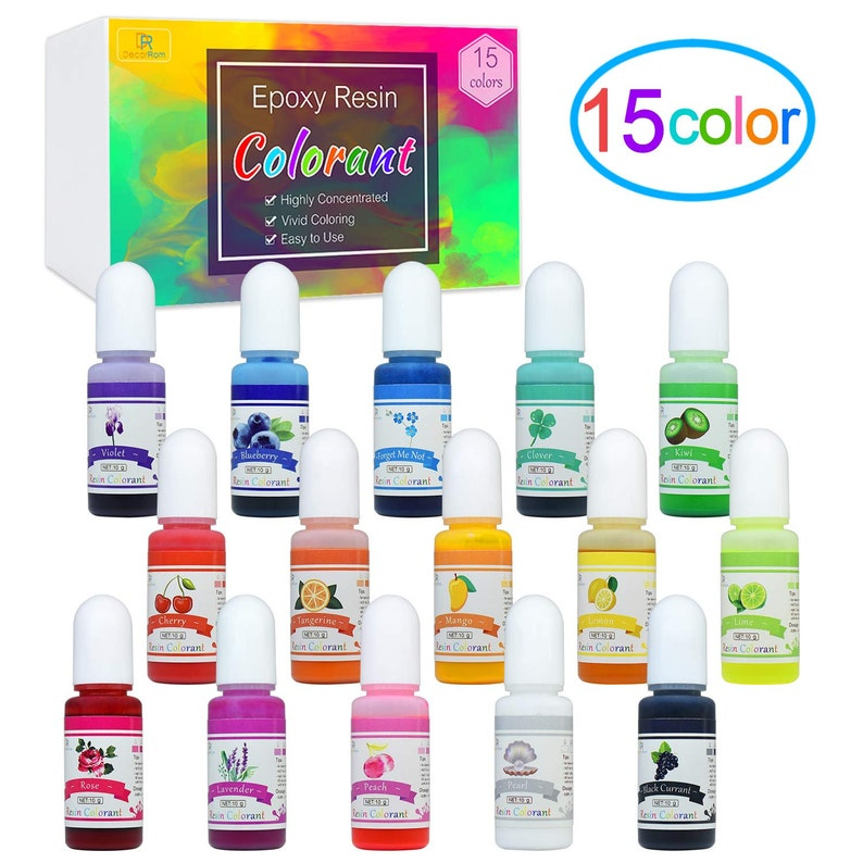 NEW Best Price 15 Colors Epoxy Resin Pigment Translucent image 0