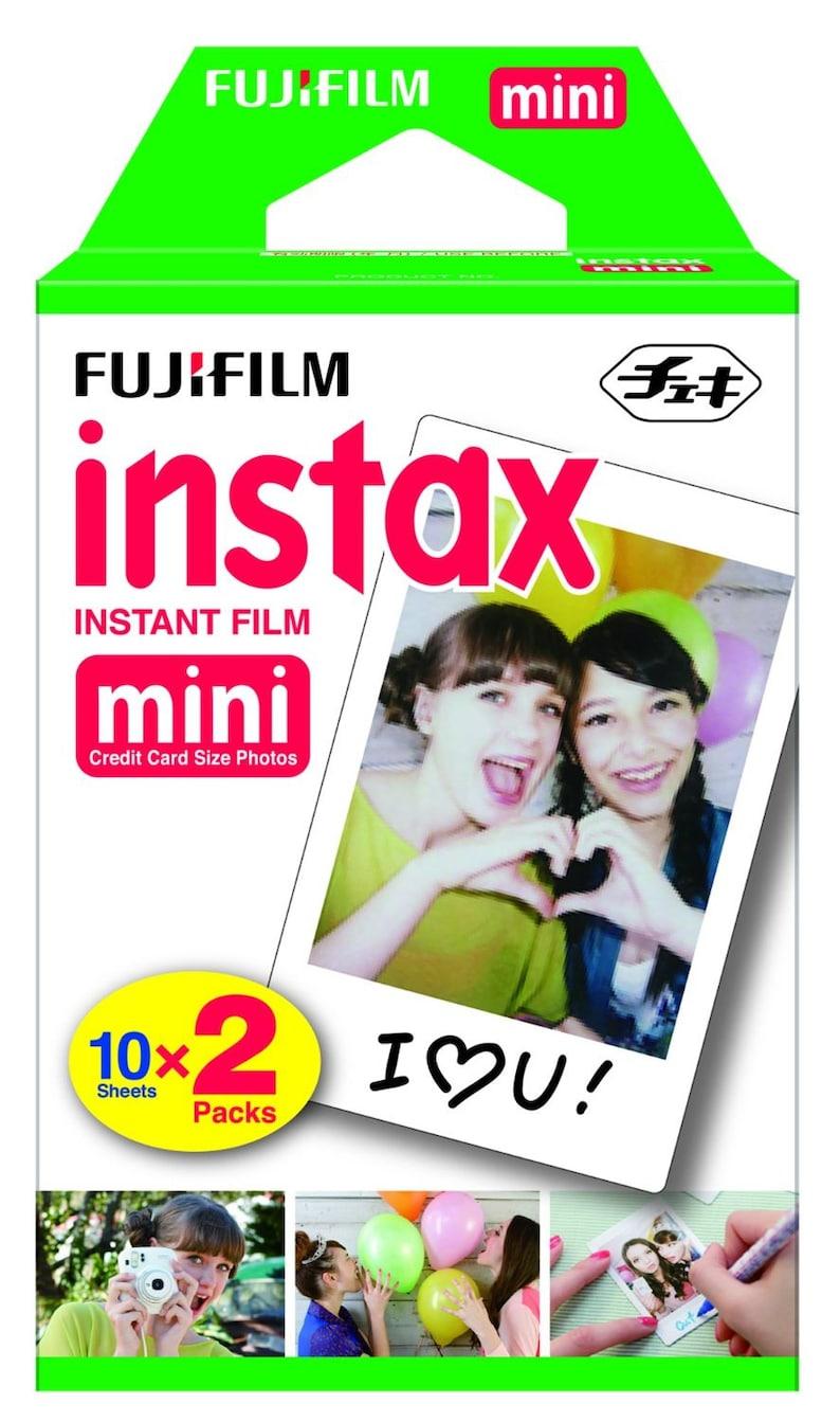NEW Best Price Fujifilm Instax Mini Instant Film Twin Pack image 0