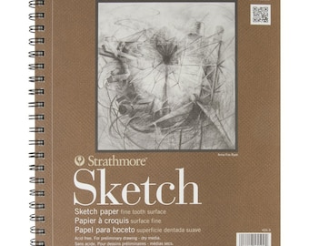 NEW Best Price! Strathmore Series 400 Sketch Pads 9 in. x 12 in. - pad of 100 - FAST SHIPPING!!!