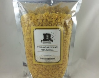 New Best Price! BEESWAX PELLETS, Yellow, 1lb-Must Have For Many Different Projects - Fast Shipping!