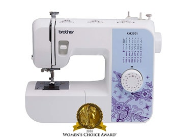 New Best Price! Brother Sewing Machine, XM2701, Lightweight Sewing Machine with 27 Stitches, Free Arm and DVD - FAST SHIPPING!!!