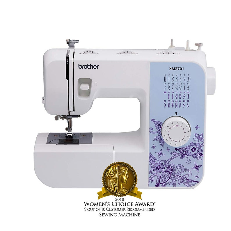 New Best Price Brother Sewing Machine XM2701 Lightweight image 0