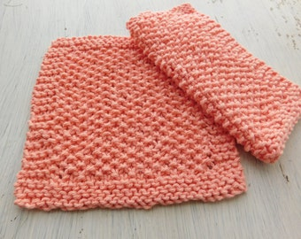 Knitted Washcloth Pattern, Easy Pattern, Beginner, Knitted Pattern, Instant Download, PDF File