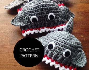 c2f1bc0208a Shark hat pattern