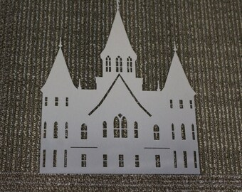 Metal Sign: Provo City Center Temple