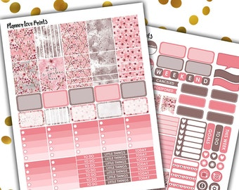50%off blossom  PRINTABLE Planner Stickers | Instant Download | Pdf and Jpg Format