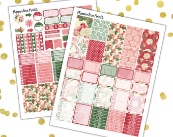ROSEGARDEN  PRINTABLE Planner Stickers | Instant Download | Pdf and Jpg Format