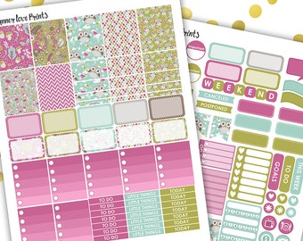 50%off ENCHANTEND FOREST PRINTABLE Planner Stickers | Instant Download | Pdf and Jpg Format