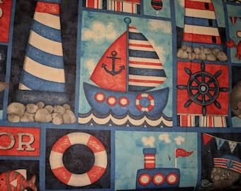 Anchor's Away! Nautical Motifs.
