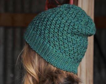 Nº101 Crochet Slouchy Beanie - Crochet PATTERN