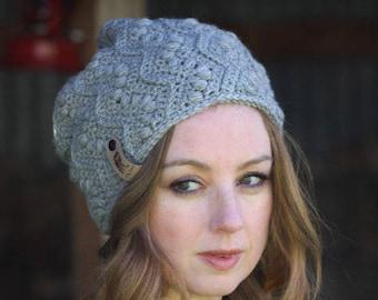 Nº33 Crochet Slouchy Beanie - Crochet PATTERN