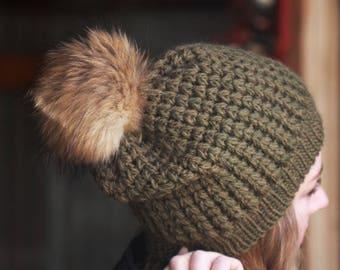Nº100 Crochet Slouchy Beanie - Crochet PATTERN