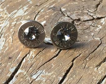 9mm nickel stud earrings