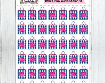 Bath and Body Works Sticker Kit