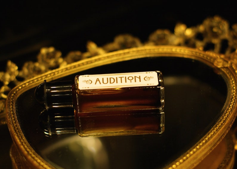 Natural Perfume Oil  AUDITION  Chocolate coffee Tobacco image 0