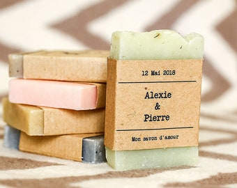 Rustic wedding favor thank you favors rustic soap bridal shower favors personalized favors from my shower gift for guest homemade soap