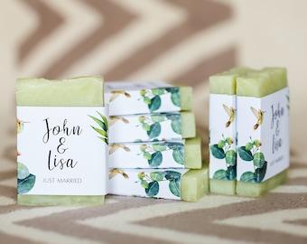 Eucalyptus shower soap favors wedding soap favors Greenery theme soap bridal shower favors greenery shower baby shower favors soap for guest
