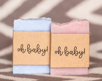Baby shower soap favors oh baby soap rustic baby shower gift for guests baby shower favors boy baby shower oh boy soap oh girl soap favors