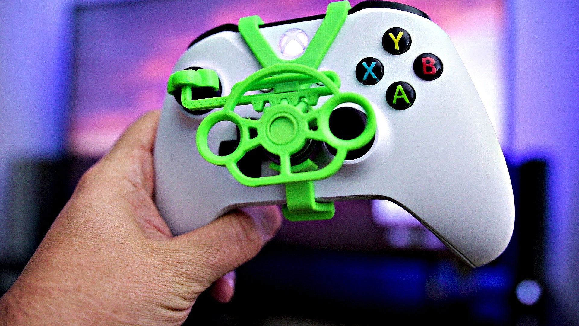 Official Xbox One Controller Mini Steering Wheel - 3D Printed - Xbox One X  - Xbox One S - Forza Horizon